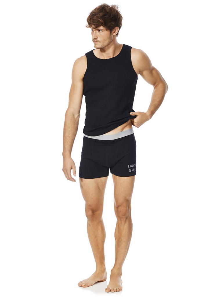 Мужское белье в стиле 50 оттенков серого
