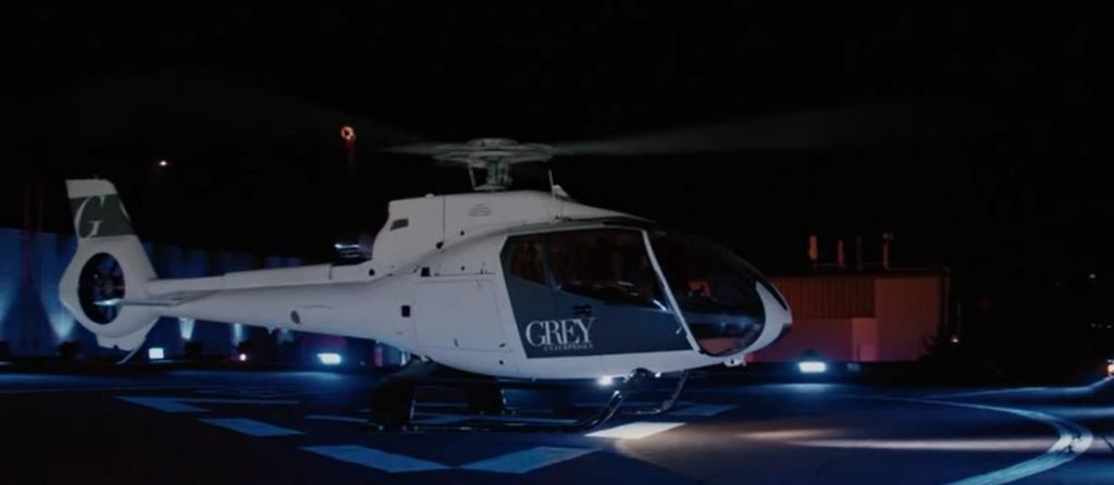 """Чарли Танго - вертолет из фильма """"50 оттенков серого"""""""